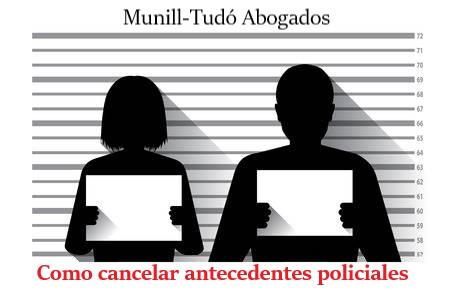 CÓMO CANCELAR ANTECEDENTES POLICIALES
